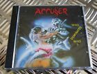 ACCUSER - Who Dominates Who? - 1989/1997 - RARE - OOP - SEALED !!!