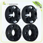 4X 15 5Lug 5x5 Wheel Spacers Hub Centric Adapters For Jeep Wrangler JK