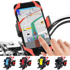 Auto Lock Bicycle Holder Bike Handlebar Mount GPS Bracket For iPhone Samsung HTC
