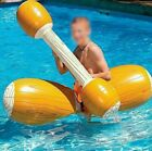 Inflatable Swimming Pool Toy Float 4 Pieces Joust Game Bumper For Adult Children
