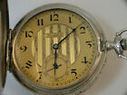 vintage 3 shell silver ART DECO cased CORTEBERT pocket watch minty and cool dial
