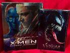 X-Men: Days of Future Past Steelbook 3D + Blu-Ray Region Free + Venom Art Cards
