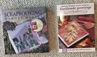 Lot of 2 Books Scrapbooking W Memory Makers Handmade Greetings For All Occasion