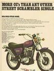 1972 BSA Gold Star 500 SS Vintage Motorcycle Ad