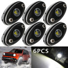 LED Rock Lights for JEEP JK RZR Off Road Truck ATV SUV Car Boat White 6PCS