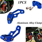 1PC Modified Aluminum Alloy Oil Pipeline Brake Line Clamp for Motorcycle Bikes