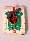 Hallmark Treble Clef Music Christmas Ornament Keepsake Festive Holiday Tree 1986