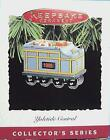 Hallmark 1995 Yuletide Central Tender Coal Train Car #2 Christmas Ornament ~ NEW