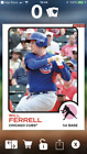 Will Ferrell Autographs in 2015 Topps Archives Baseball 7