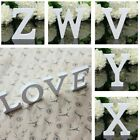 A Z White Wooden Letters Alphabet Stand Words DIY Wedding Party Home Decoration