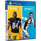 Madden NFL 19 - FIFA Soccer 19 Bundle USED SEALED (PlayStation 4, 2018) PS4