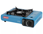 Coleman 1 Burner Table Top Butane Stove w Case Camping Outdoor Picnic Cooking
