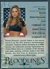 Ronda Rousey MMA Cards and Autographed Memorabilia Guide 15