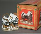 David Winter Cottages 1992 Christmas Ornaments Tudor Manor (h)