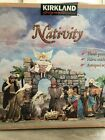 Rare Kirkland Signature Nativity Set 22 piece Tissue Mache Set Creche De Noel