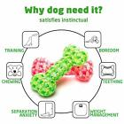 Squeaky Rubber Dog Chew Toys Floating Chewing Teeth Cleaning Training