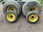 Compact Tractor Turf Grass All Weather Wheels Tyres John Deere New Holland Ford