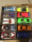 Rare Hot Wheels 1999 Internet VW Drag Bus with 10 Car Revealers Set NIB
