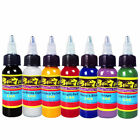 Professional Tattoo Ink 7 Colors Set 1oz 30ml/Bottle Pigment Kit  TI301-30-7 US