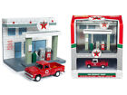 JOHNNY LIGHTNING JLSD001 1965 CHEVROLET PICKUP & TEXACO GAS STATION DIORAMA 1/64