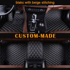 Car Floor Mats For Jeep Cherokee 5 Seats 2013-2017 Waterproof Custom-fit Car Mat