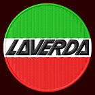 LAVERDA EMBROIDERED PATCH ~3