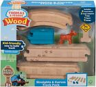 FISHER PRICE THOMAS & FRIENDS REAL WOOD STRAIGHTS & CURVES TRACK PACK 11 PC