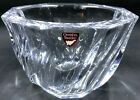 Vintage Signed Orrefors Crystal Bowl Residence Pattern Swirled 5