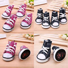 USA Hot Pet Dog Boots Puppy Denim Sports Anti slip Shoes Sneakers For Small Dogs