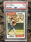 1974 TOPPS RICH (GOOSE) GOSSAGE CARD NUMBER #542 PSA 7 NEAR MINT