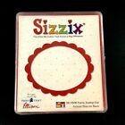 Sizzix Original Large Scallop Oval Frame Scrapbooking Punch 38 0306 Never Used