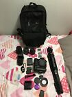 Great Conditioned Canon 30D Starter Set With Lots Of Accessories