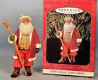 Hallmark Black Santa Christmas Ornament #1 in Series - 1999 Joyful Santa - NEW