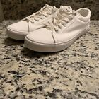 New Men Casual White Canvas Sneaker Shoes