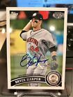 2019 2011 Topps Pro Debut 10-Year Anniversary Bryce Harper SSP 5 5 Autograph 1 1