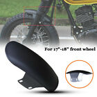 Motorcycle Front Fender Cover Mudguard Racer Splash Dust Muddy Wheel For 17