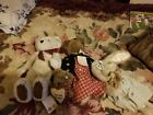 Boyds bears plush lot
