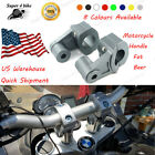 Motorcycle Handle Bar Risers Mount Clamp For Aprilia Mana 850 GT NA850 2007-2017
