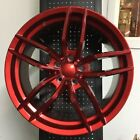 19 VOSS RED STAGGERED RIMS WHEELS FITS LEXUS GS GS300 GS350 GS430