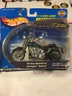 MATTEL 2000 Hot Wheels HARLEY-DAVIDSON Springer Softail MOTORCYCLE Die Cast  B20