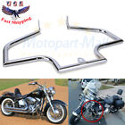 Front Crash Bar Engine Guard For Harley Heritage FLSTC Softail Springer Fat Boy