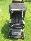 JOOVY Caboose Too Graphite Stand-On Tandem Stroller Double Used Great Shape