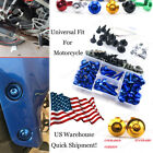 MotorcycleAlloy Screw Fasteners Motorcycle Fairing Bolt Kit For Suzuki B-KING