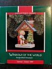 HALLMARK WINDOWS OF THE WORLD #5 SERIES 1989 CHRISTMAS ORNAMENTS GERMANY GERMAN