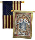 Peace on Earth Doves  Nativity USA Vintage House Flags Pack HP114125 BOAA