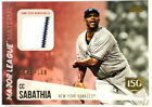 CC Sabathia Cards, Rookie Cards and Autographed Memorabilia Guide 10