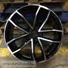 18 S5 CAVO STYLE BLACK WHEELS RIMS FITS AUDI TT 32 QUATTRO COUPE ROADSTER