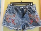 VERY CUTE SHORTS BY BDG URBAN OUTFITTERS EMBROIDERED5 POCKETS SIZE28