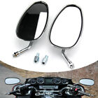 For Honda Shadow Spirit 750 1100 VTX1300 VTX1800 Chrome Motorcycle Mirrors 10MM