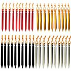 LOT 10 100 200 PCS Aluminium Alloy Camping Tent Peg 18cm Ground Nails Stake MA